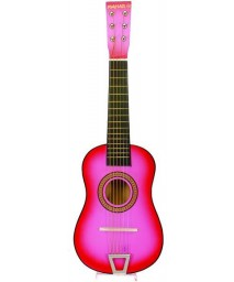 """Ddi-TOY - 23"""" PINK ACOUSTIC GUITAR CASE PACK 20"""